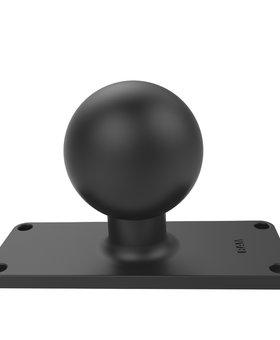 "Ram Mount RAM-D-202U-25 RAM 2"" X 5"" Base With Ball"