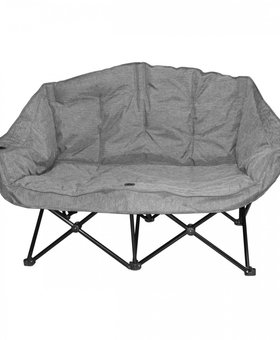 Kuma Bear Buddy Chair Grey Plaid