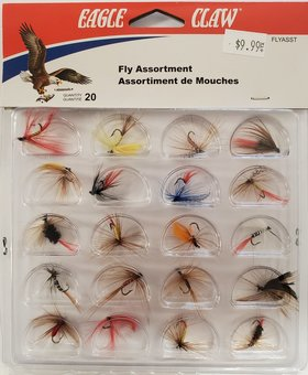 EAGLE CLAW Assorted Fly