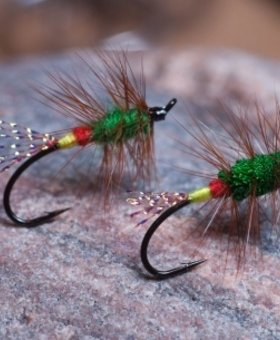 Superfly Salmon Fly Green Machine #6