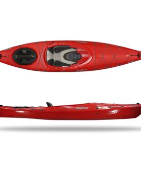 FeelFree Adventura 110 w/skeg V2 - Velocity Red High Backrest