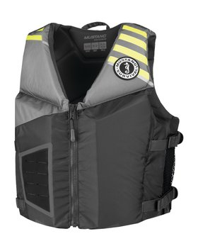 Mustang Survival Rev Young Adult Foam Vest Gray/Yellow