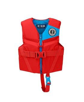 Mustang Survival Rev Child Foam Vest Imperial Red