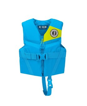 Mustang Survival Rev Child Foam Vest Azure Blue