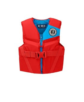 Mustang Survival Rev Youth Foam Vest Imperial Red