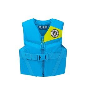 Mustang Survival Rev Youth Foam Vest Azure Blue