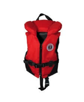 Mustang Survival Childs Vest 30-60lbs Red-Black