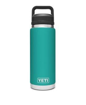 Yeti 26oz Rambler Chug Bottle Aquifier Blue