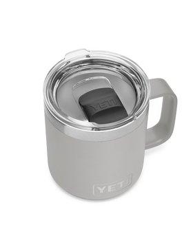 Yeti 10oz Rambler Mug MS Granite Grey