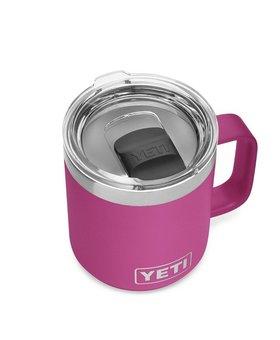 Yeti 10oz Rambler Mug MS Prickly Pear Pink