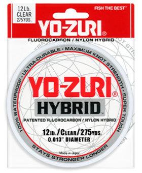 Yo-Zuri 4LB CLEAR 275YDS.