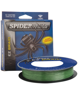 SPIDERWIRE EZ BRAID Moss Green 30LB 110YD