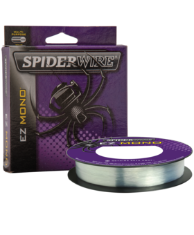 SPIDERWIRE EZ MONO 8LB 220YD CLEAR/BLUE