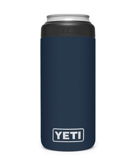 Yeti Colster Slim Can Navy