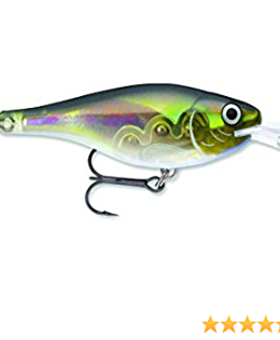 RAPALA LURES Scatter Glass 07 Olive Ghost