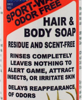 Atsko Atsko SCENT BODY/HAIR SOAP 16OZ