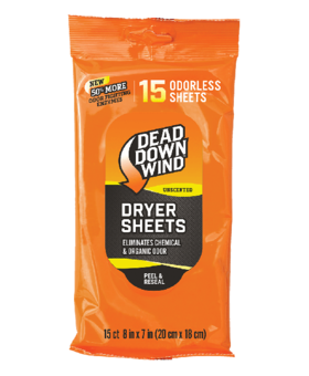Dead Down Wind Dryer Sheets 15count