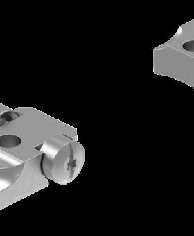 Leupold STD Abolt LR Silver