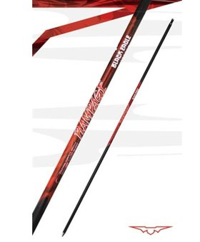 Black Eagle Arrows 300 Rampage shafts .001 match dz shafts