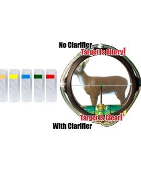 Specialty PXS Target Peep Clar 1 yellow