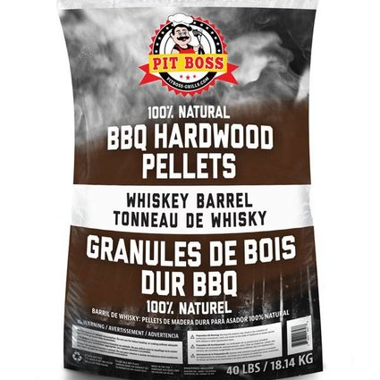 Louisiana Grills Whiskey Barrel 40 lb bag