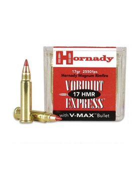 Hornady 17 HMR 17 gr Vmax