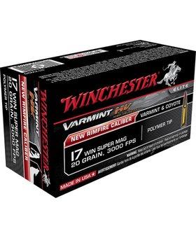 WINCHESTER - AMMUNITION WIN VAR-HV 17WSM 20 VMAX 50