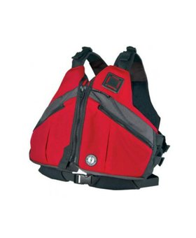 Mustang Survival DELUXE PADDLING VEST RED XL