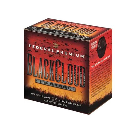 Federal 12 gauge 3 in 1 1/4 oz #4 black cloud