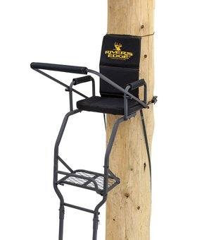 Rivers Edge DELUXE LADDER W/SEAT AND SHOOTING RAIL
