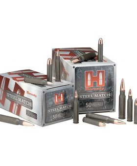 Hornady 223 75 gr BTHP steel 50 ct.