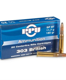 PPU 303 british 180gr sp bt