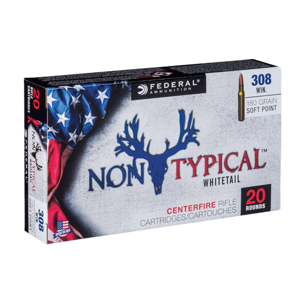 Federal 308 win non typ 180 gr sp
