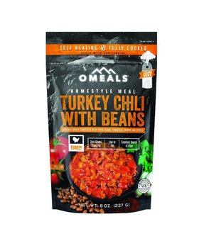 Omeals Turkey Chili w/beans
