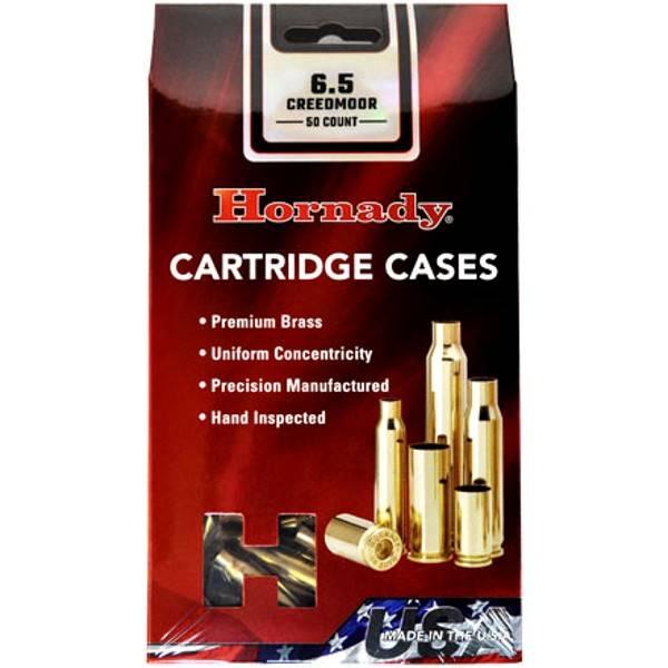 Hornady 6.5 creedmore Brass 50 ct.