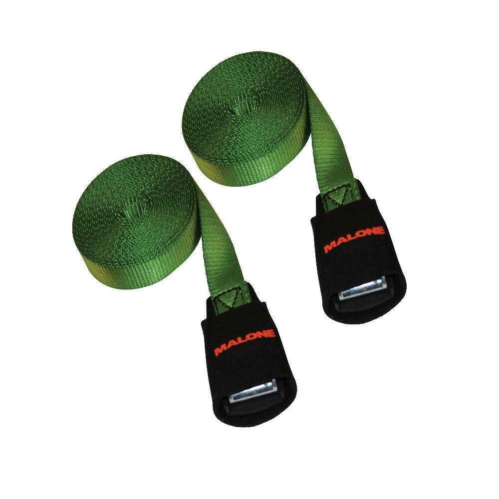 Malone 15' Load Strap 2 Pk green
