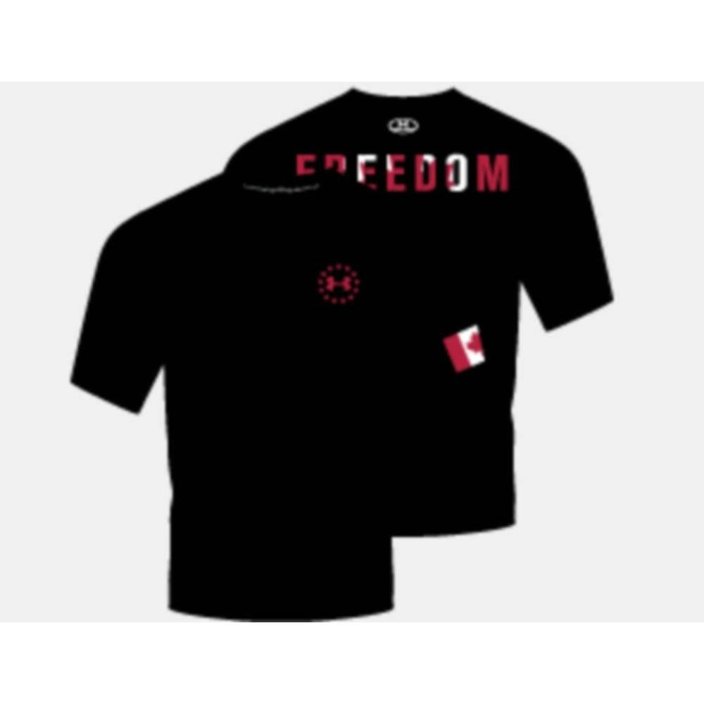 UA Freedom Heat Gear TShirt XXL