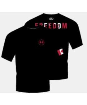 UA Freedom Heat Gear Tshirt XL