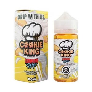 DRIP MORE: COOKIE KING - LEMON WAFER 100ML