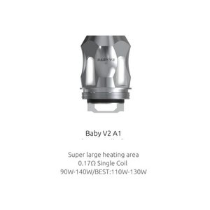 SMOK SMOK TFV8 BABY V2 TANK COILS - 3 PACK