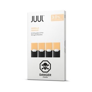 JUUL REPLACEMENT PODS - 3% - PACK OF 4