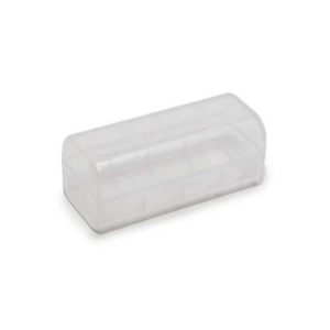 CLEAR SINGLE 26650 BATTERY CASE