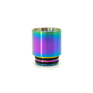 810 RAINBOW STAINLESS STEEL DRIP TIP