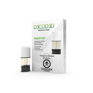 STLTH PODS - 3 PACK - DECODED BIGGER FOOT