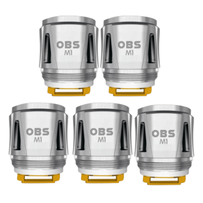 OBS OBS M1 0.2ohm MESH COILS - 5 PACK