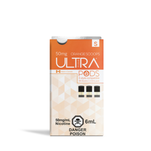 STLTH ULTRA PODS - 3 PACK - ORANGE SCOOPS (CLEARANCE)