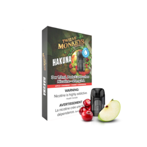 NIKKI PODS - 3 PACK - TWELVE MONKEYS HAKUNA