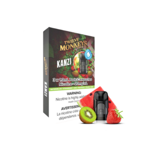 NIKKI PODS - 3 PACK - TWELVE MONKEYS KANZI