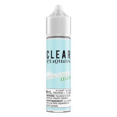 CLEAR LIQUIDS - MOUNTAIN MINT - 60ML