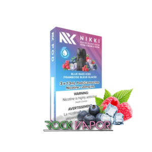 NIKKI PODS - 3 PACK - BLUE RAZZ ICED